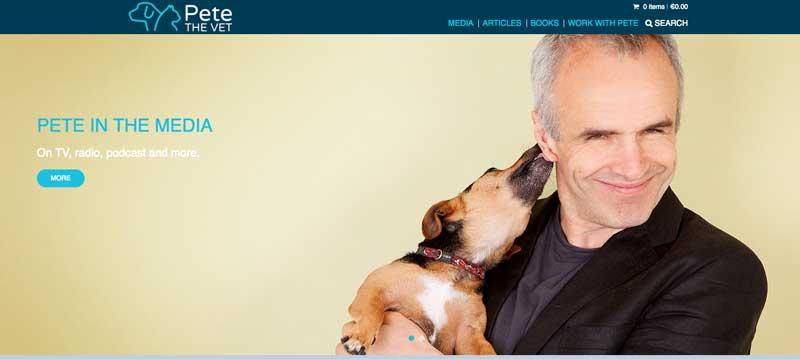 blog de veterinarios del Dr. Pete Wedderburn